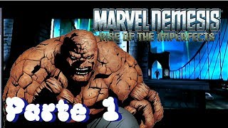 Marvel Nemesis: Rise of The Imperfects - Parte 1 - La Invasión | Danny The Dough 🎮