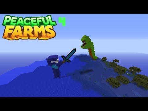 "Minecraft Peaceful Farms Part 4 | ""Under the Sea"" Build"