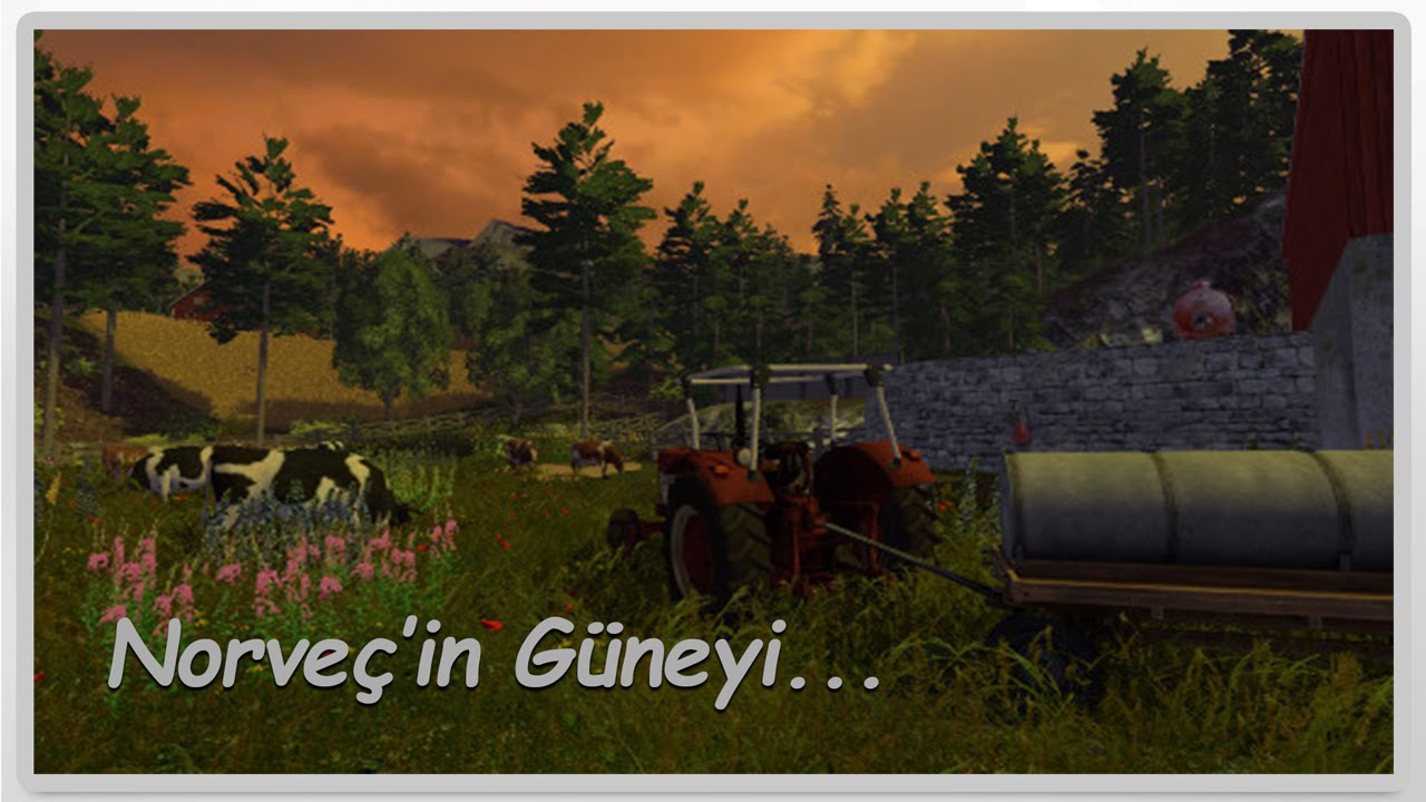 Farming Simulator Southern Norway Haritası YouTube - Norway map farming simulator 2015