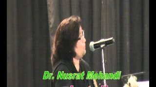 khuch khaas sher by dr nusrat mehdi bhopal dcm mushaira