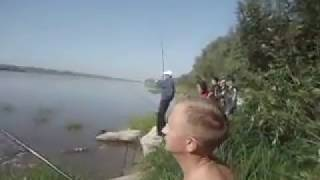 Карпазан на Королевскую креветку. Иртыш. Конец августа 2013г.