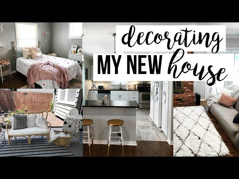 MOVING VLOG | DECORATING THE NEW HOUSE!
