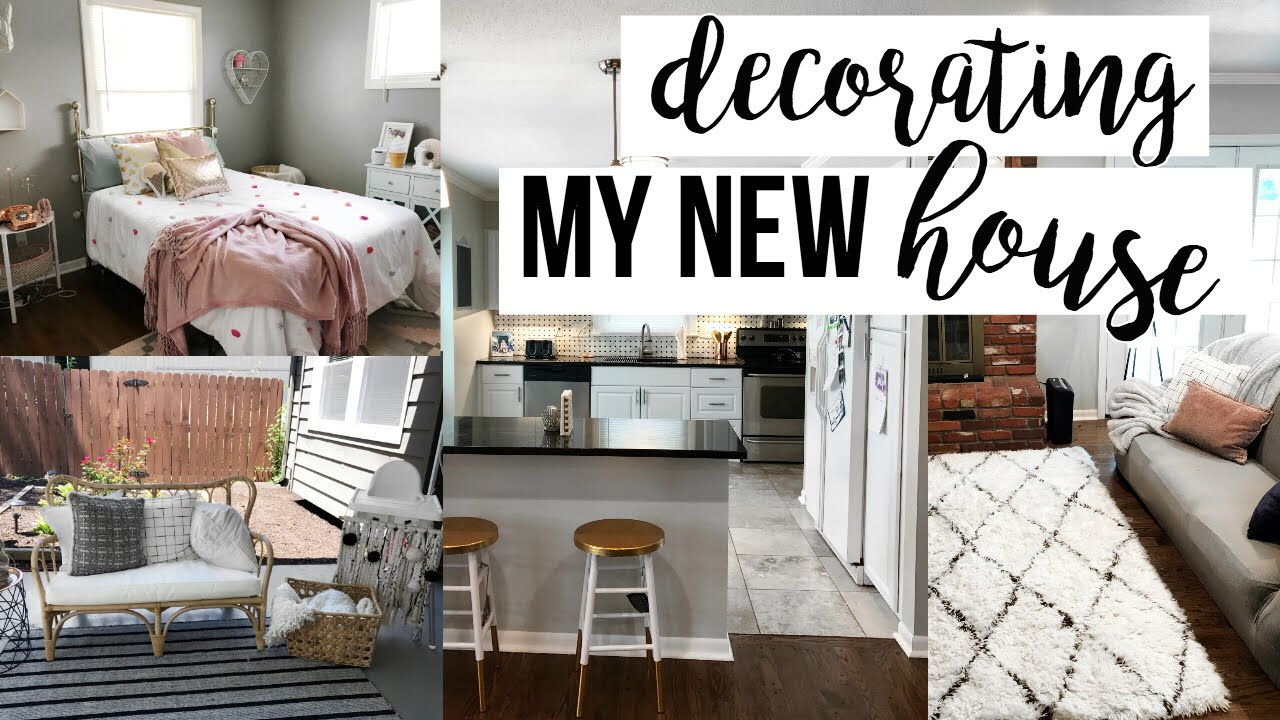 Moving Vlog Decorating The New House Youtube