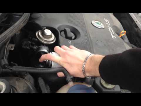 How to clean diesel engine Skoda VW Seat Audi TDi 66 81 kW