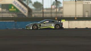 rFactor 2 - 2019 Aston Martin Vantage GT3 Gameplay [4K 60FPS]