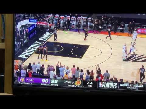 Phoenix Suns 99, LA Lakers 90 - 2021 NBA Playoffs Round 1, Game 1 To The Suns - Vlog