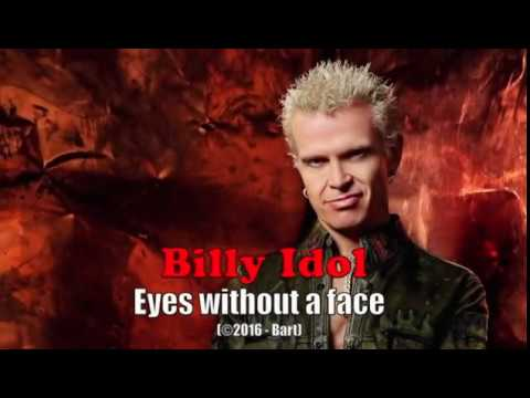 Billy Idol - Eyes without a face (Karaoke)