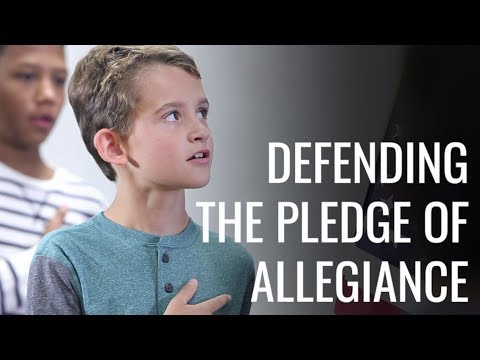 My Fight for 1 College to Say the Pledge of Allegiance
