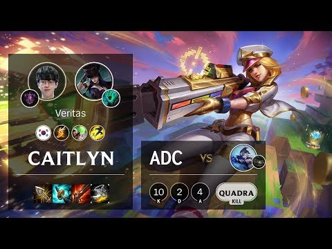 Caitlyn ADC Vs Ashe - KR Master Patch 10.4