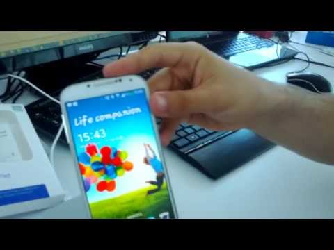 Samsung Wireless S Charger Pad with Galaxy S4