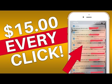 Get PAID $15 TO CLICK (Earn Paypal Money Fast)