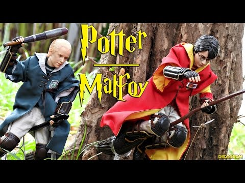 Star Ace 1/6 Harry Potter e Draco Malfoy Pack Review BR / DiegoHDM