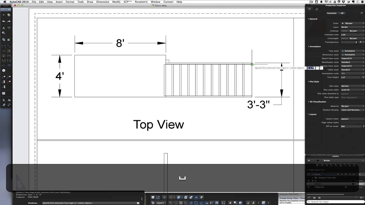 100 staircase detail dwg detail autocad 55 concrete for Ameublement domon