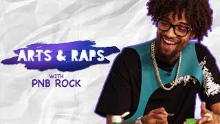 "PnB Rock Explains ""No Cap"" To Kids 
