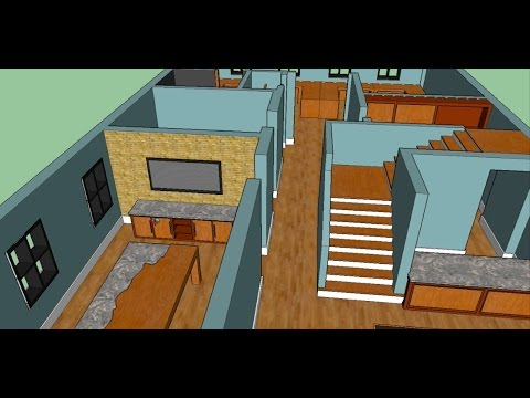 Designing An Office In Sketchup