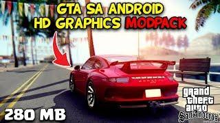 GRAFIKNYA GILA COY!! GTA SA ANDROID HD GRAPHICS MODPACK   HANYA 280 MB   SUPPORT ALL OS ANDROID
