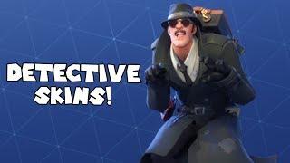 *NEW* DETECTIVE SKINS! - Fortnite