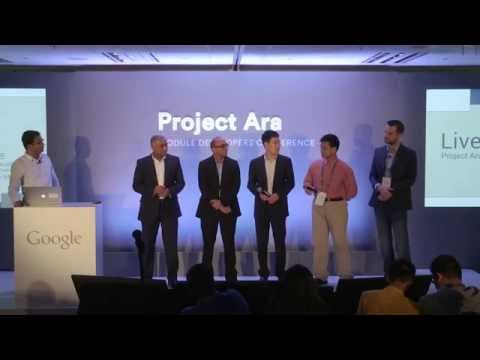 Project Ara Developers Conference 2 (January 2015). Presentation of Ara modules.