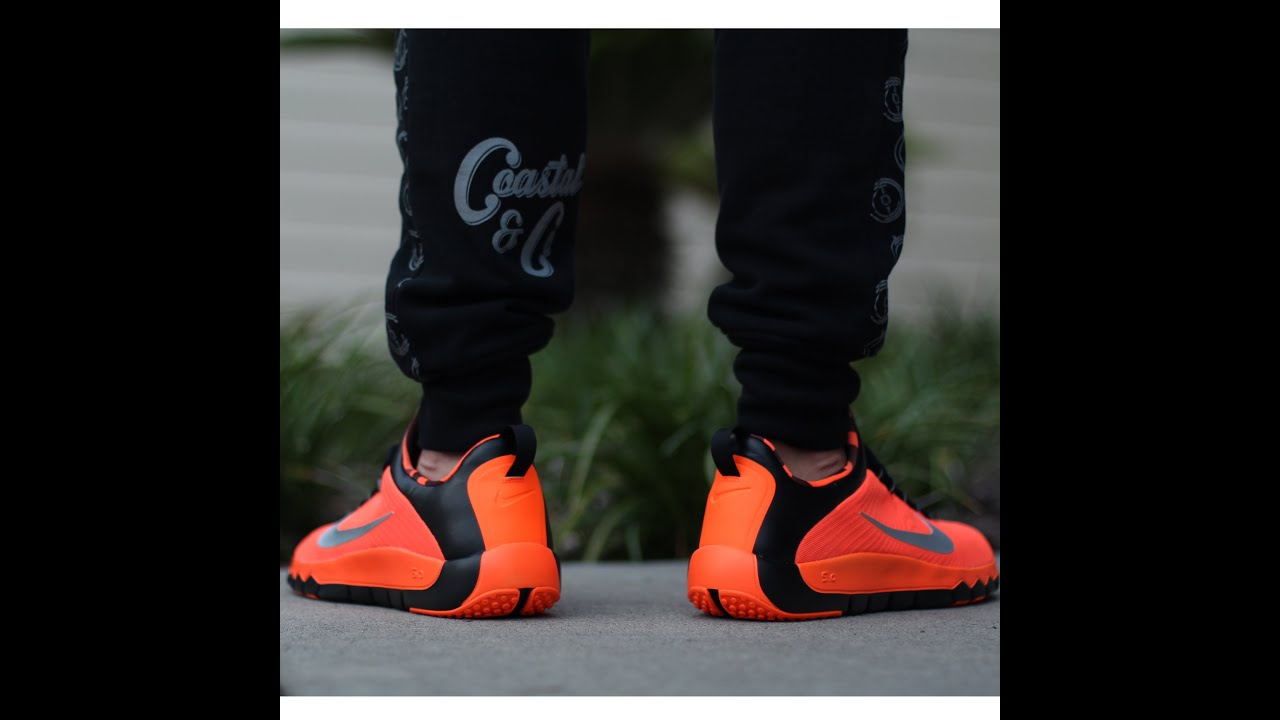 Nike Free 5.0 Caution from ChampsSports with On Feet