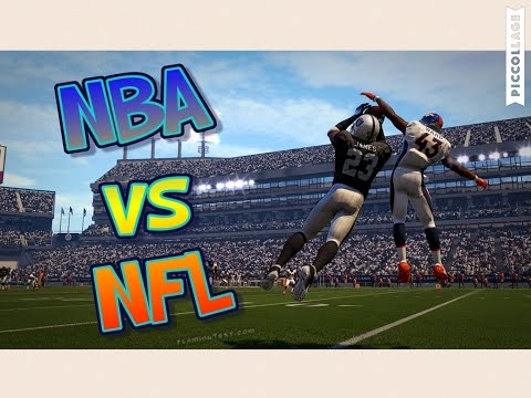 Can A Team of All NBA PLAYERS beat the Superbowl Winning Broncos in Football?? Madden 16 Challenge