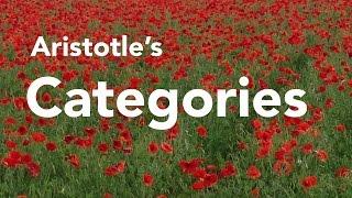 S.09 Aristotle's Categories