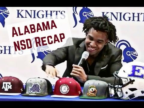 National Signing Day Recap with Andrew Bone and Kyle Henderson