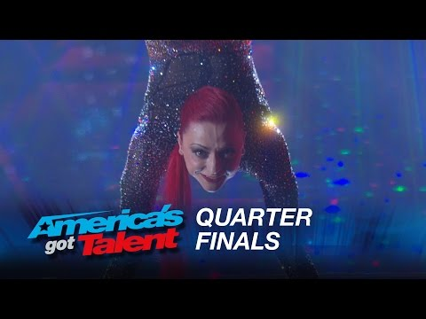 Vita Radionova: Contortionist Bends and Twists Across the Stage - America's Got Talent 2015