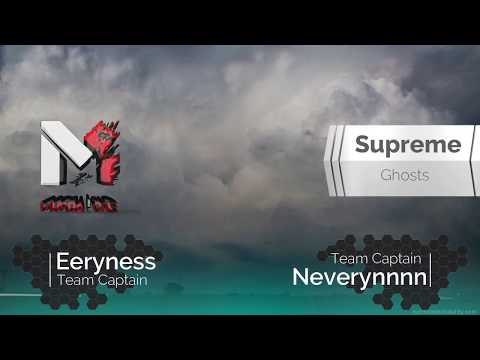Ghost War Pro League - Murda1 vs Supreme Ghosts (S4 Week 2)