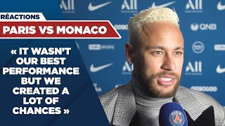 VIDEO: POST GAME INTERVIEW : PARIS SAINT-GERMAIN vs MONACO