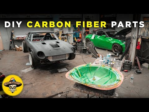 How To Build Your Own CARBON FIBER PARTS | Vacuum Resin Infusion | (EP# 44)(4K)