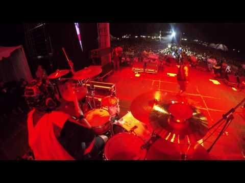 THE SUPER SAS - LUAR BIASA (Drum Cam)