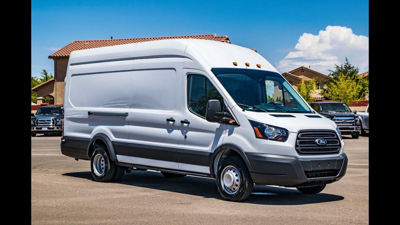 Ford Rv Van >> 2016 Ford Transit T-350 DRW Diesel w/ Adrian Steel Utility Upfit - YouTube