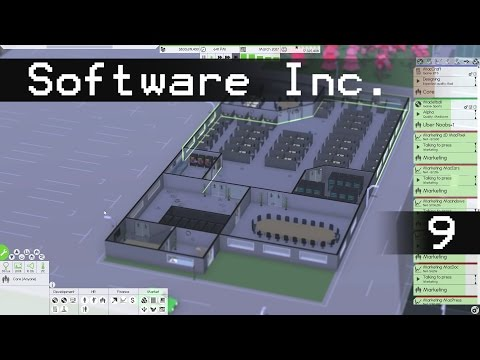 Let's Play Software Inc Episode 9: MacSweat Shop - Software Inc Gameplay