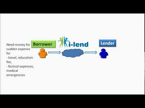 i-Lend- How it works?