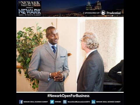 Lunch Keynote Speaker Dr. Randal Pinkett #NewarkOpenForBusiness