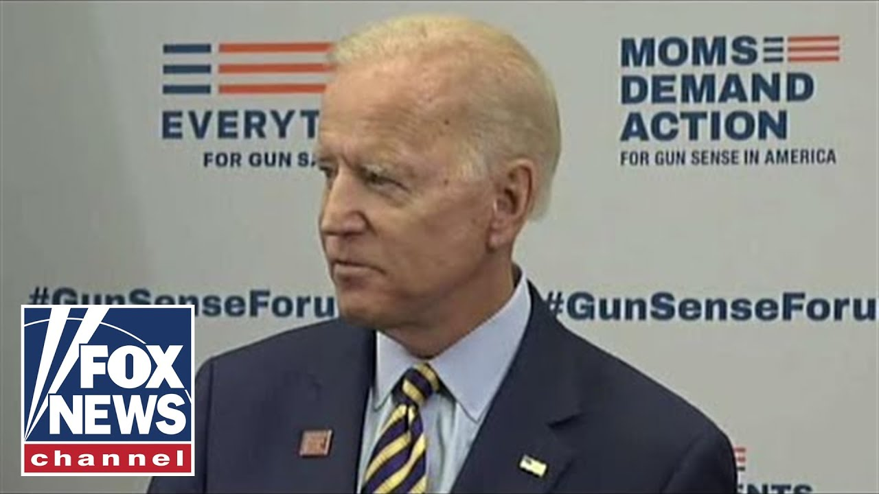 Biden says he was vice president during 2018 Parkland shooting