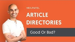 Are SEO Backlinks From Article Directories Bad For Google Search Rankings?