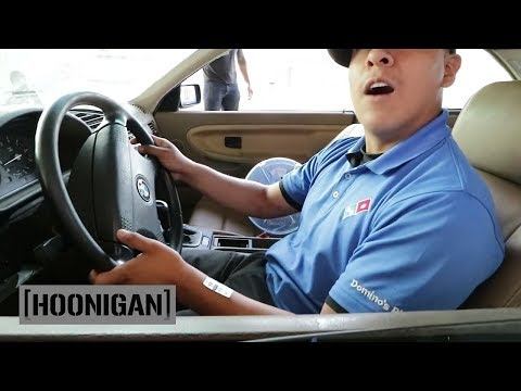 [HOONIGAN] DT 033: Forcing Pizza Boy to do Burnouts