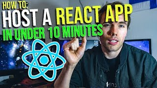 How to host a REACT APP IN UNDER 10 MINUTES (EASY 2018) #grindreel