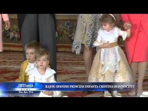Rajoy: Spanish Princess Infanta Cristina is Innocent