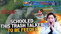 Intense Game, 61% Amazing damage Granger is schooling the trash talker