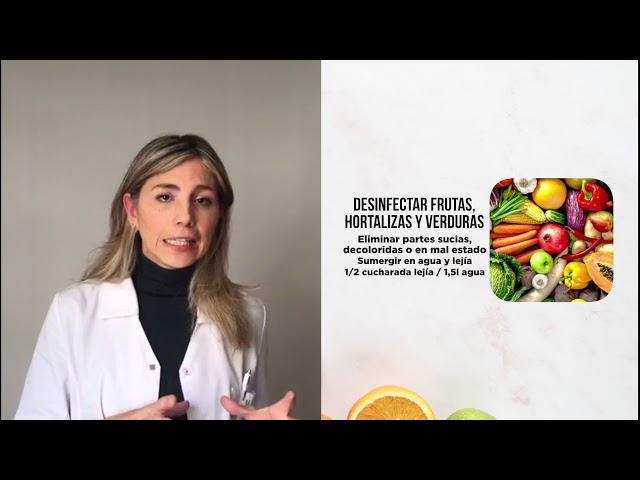 Aliméntate bien: ¿Cómo desinfectar los alimentos frente al coronavirus?