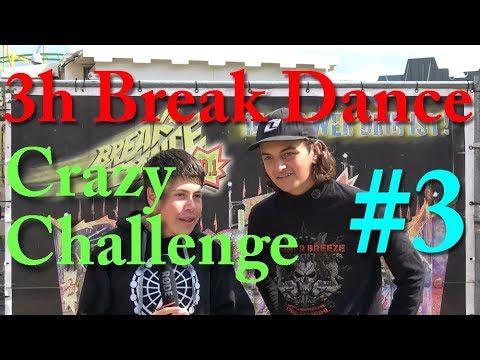 Crazy Challenges #3: 3h Break Dance fahren