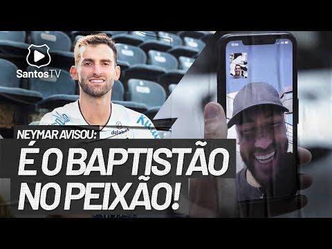 LÉO BAPTISTÃO É O NOVO REFORÇO DO SANTOS!