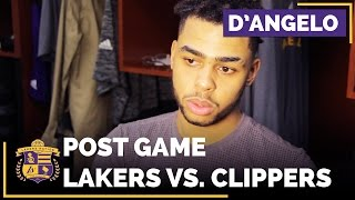 D'Angelo Russell Thinks Team Got Complacent, Reacts To Clippers Blowout