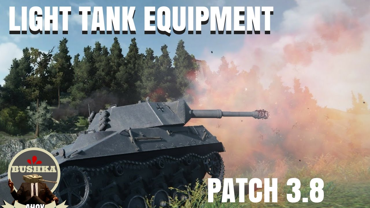 8cf9d73f5213a Light Tank Equipment Load outs 3 8 World of Tanks Blitz - YouTube