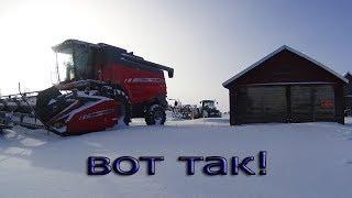 Как у нас стаит техника зимой. Литва : How we keeping our equipment in winter.......Lithuania, EU