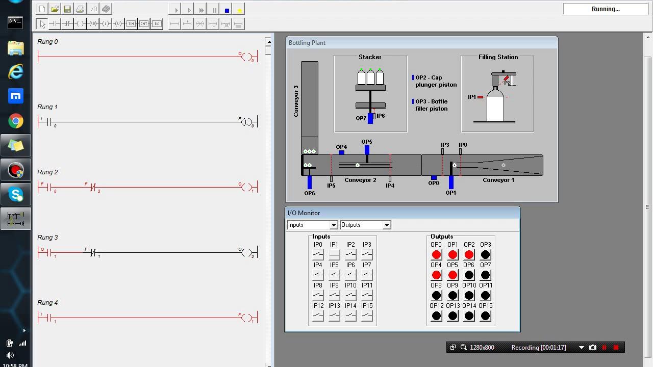 Ladsim bottling plant plc simulation youtube ladsim bottling plant plc simulation ccuart Gallery