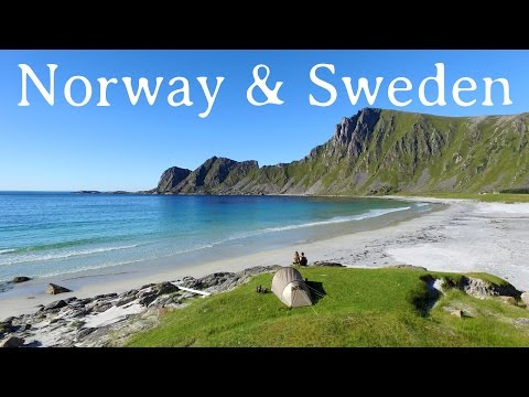 SWEDEN & NORWAY TRAVEL 2016 - GoPro - Drone - 4K