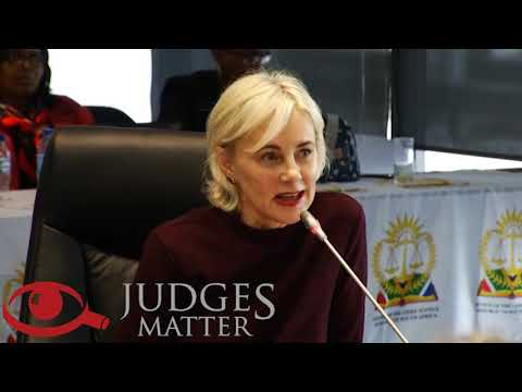 JSC interview of Ms M Opperman for the Western Cape High Court (Judges Matter)